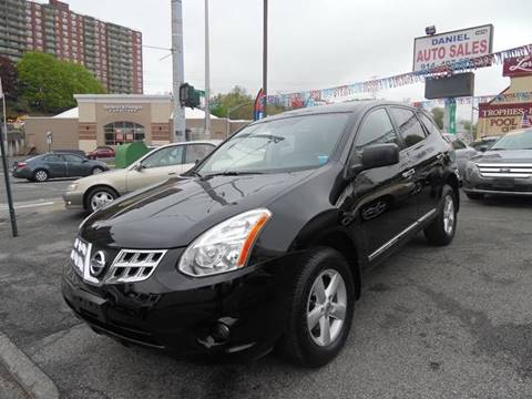 2012 Nissan Rogue for sale at Daniel Auto Sales in Yonkers NY