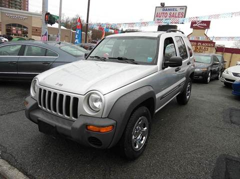 2004 Jeep Liberty for sale at Daniel Auto Sales in Yonkers NY