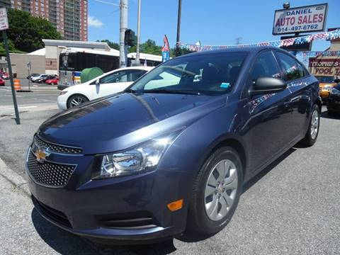 2013 Chevrolet Cruze for sale at Daniel Auto Sales in Yonkers NY
