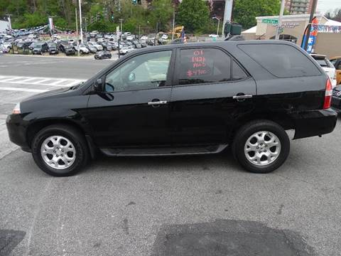 2001 Acura MDX for sale at Daniel Auto Sales in Yonkers NY