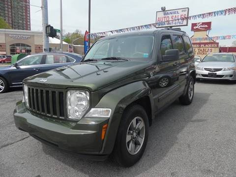 2008 Jeep Liberty for sale at Daniel Auto Sales in Yonkers NY