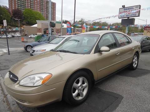 2001 Ford Taurus for sale at Daniel Auto Sales in Yonkers NY