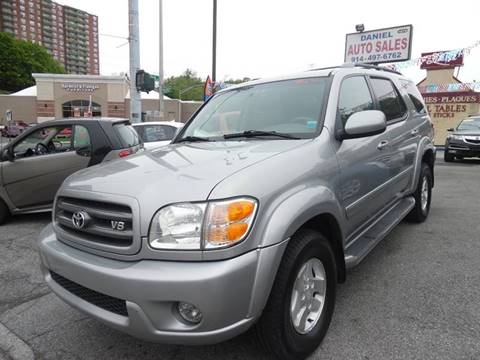 2003 Toyota Sequoia for sale at Daniel Auto Sales in Yonkers NY