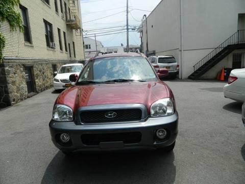 2004 Hyundai Santa Fe for sale at Daniel Auto Sales in Yonkers NY
