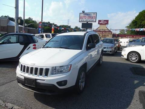 2012 Jeep Compass for sale at Daniel Auto Sales in Yonkers NY