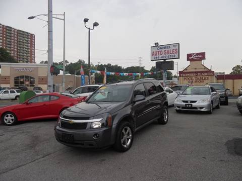 2007 Chevrolet Equinox for sale at Daniel Auto Sales in Yonkers NY