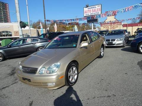 2004 Lexus GS 300 for sale at Daniel Auto Sales in Yonkers NY