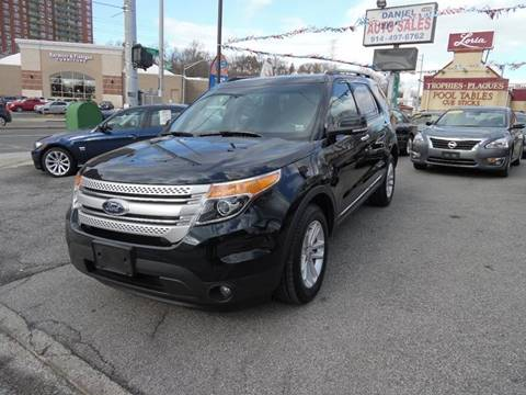 2014 Ford Explorer for sale at Daniel Auto Sales in Yonkers NY