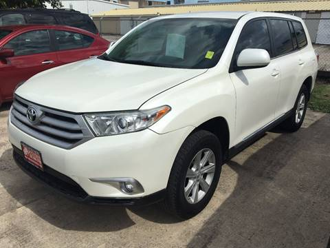 2013 Toyota Highlander for sale in Houston, TX