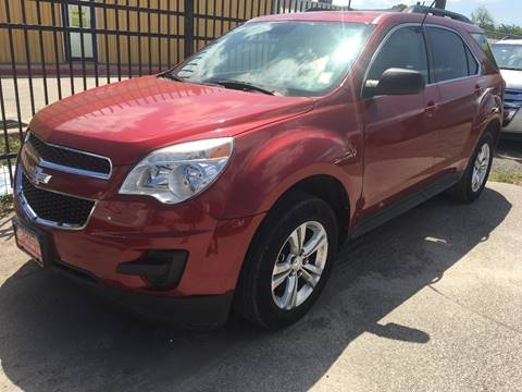 2014 Chevrolet Equinox for sale at AMIGO USED CARS in Houston TX