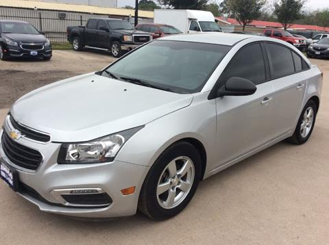 2013 Chevrolet Cruze for sale at AMIGO USED CARS in Houston TX