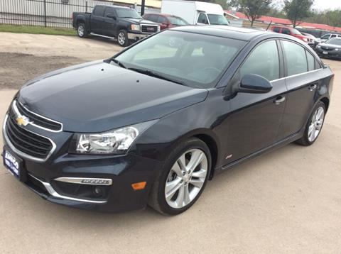 2015 Chevrolet Cruze for sale at AMIGO USED CARS in Houston TX