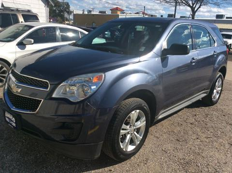 2013 Chevrolet Equinox for sale at AMIGO USED CARS in Houston TX