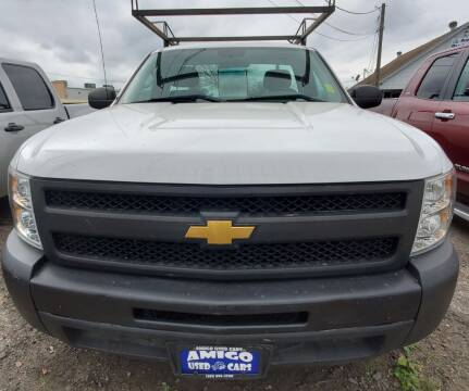 2011 Chevrolet Silverado 1500 for sale at AMIGO USED CARS in Houston TX