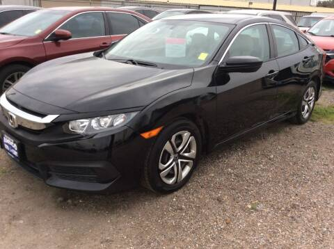 2016 Honda Civic for sale at AMIGO USED CARS in Houston TX