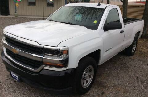 2017 Chevrolet Silverado 1500 for sale at AMIGO USED CARS in Houston TX