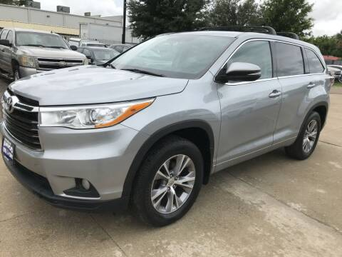2014 Toyota Highlander for sale at AMIGO USED CARS in Houston TX