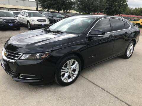 2015 Chevrolet Impala for sale at AMIGO USED CARS in Houston TX