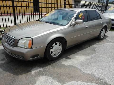 2004 Cadillac DeVille for sale in Houston, TX