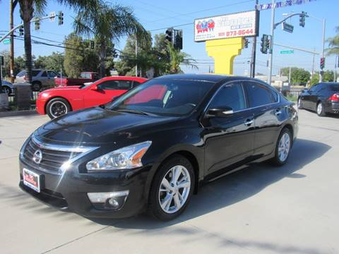 2013 Nissan Altima for sale at Los Compadres Auto Center in Bloomington CA