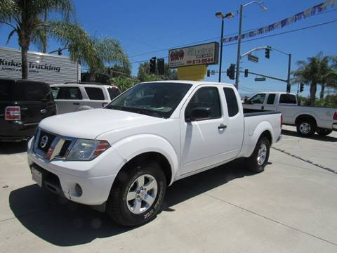 2012 Nissan Frontier for sale at Los Compadres Auto Center in Bloomington CA