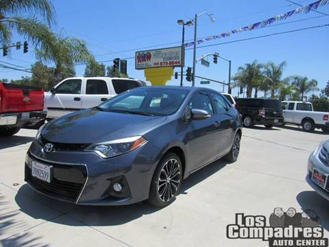2014 Toyota Corolla for sale at Los Compadres Auto Center in Bloomington CA