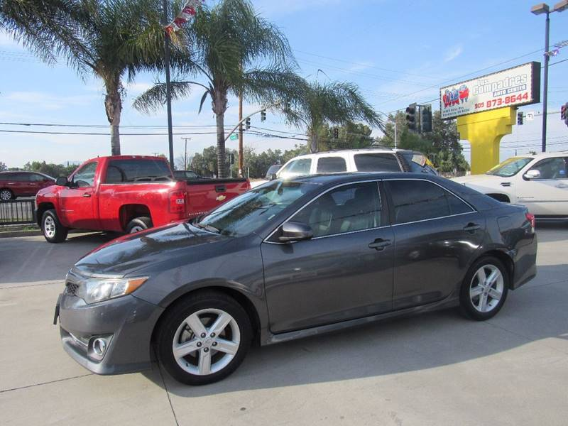 2012 Toyota Camry for sale at Los Compadres Auto Center in Bloomington CA