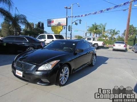 2010 Infiniti G37 Coupe for sale at Los Compadres Auto Center in Bloomington CA
