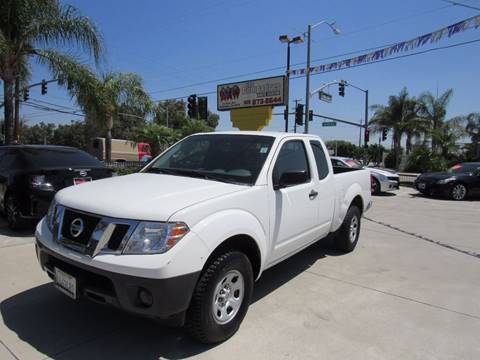 2014 Nissan Frontier for sale at Los Compadres Auto Center in Bloomington CA