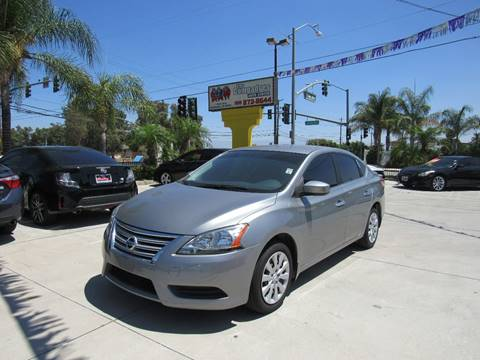 2013 Nissan Sentra for sale at Los Compadres Auto Center in Bloomington CA