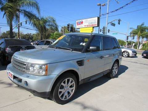 2007 Land Rover Range Rover Sport for sale at Los Compadres Auto Center in Bloomington CA