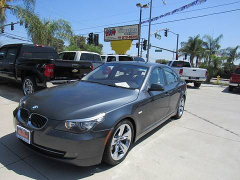 2010 BMW 5 Series for sale at Los Compadres Auto Center in Bloomington CA