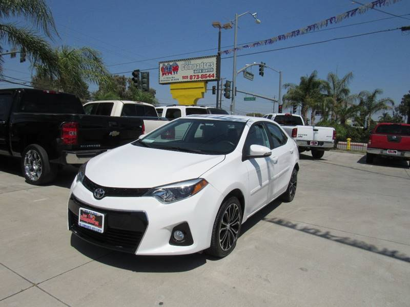 2016 Toyota Corolla for sale at Los Compadres Auto Center in Bloomington CA