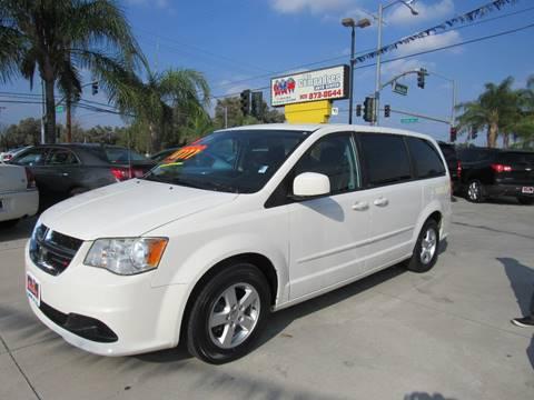 2013 Dodge Grand Caravan for sale at Los Compadres Auto Center in Bloomington CA