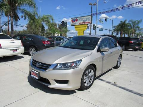 2013 Honda Accord for sale at Los Compadres Auto Center in Bloomington CA