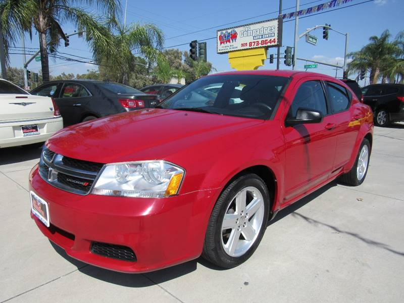 2013 Dodge Avenger for sale at Los Compadres Auto Center in Bloomington CA