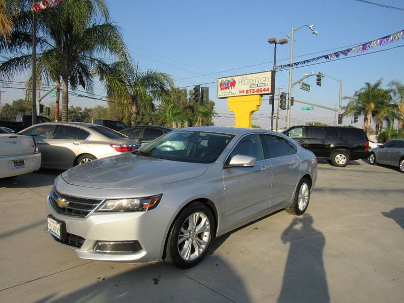 2015 Chevrolet Impala for sale at Los Compadres Auto Center in Bloomington CA