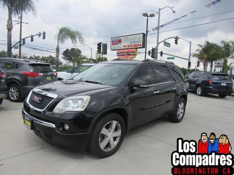 2012 GMC Acadia for sale in Bloomington, CA