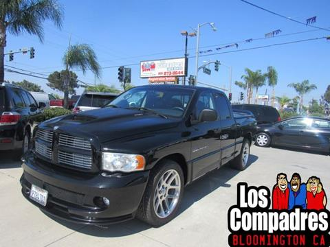 Srt10 For Sale >> 2005 Dodge Ram Pickup 1500 Srt 10 For Sale In Bloomington Ca