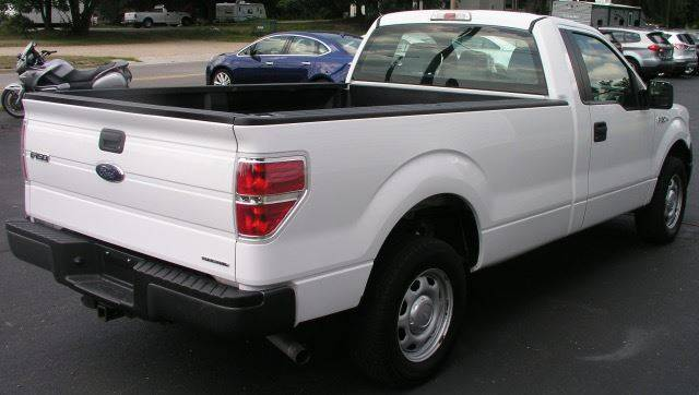 2014 Ford F-150 4x2 XL 2dr Regular Cab Styleside 8 ft. LB - Bailey MI