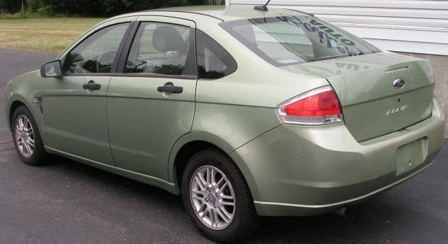 2008 Ford Focus SE 4dr Sedan - Bailey MI