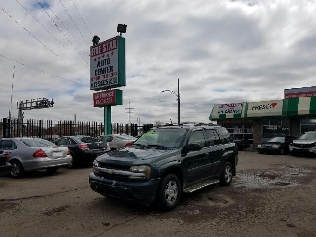 2005 Chevrolet TrailBlazer for sale at Five Star Auto Center in Detroit MI
