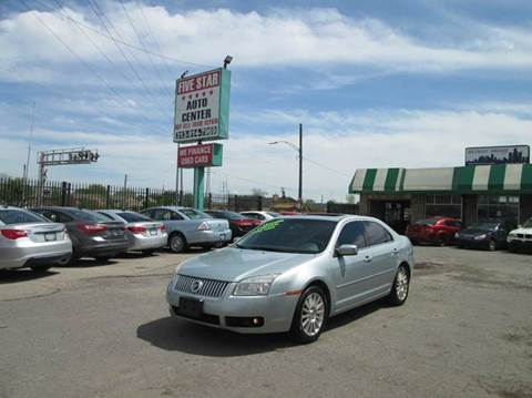 2007 Mercury Milan for sale at Five Star Auto Center in Detroit MI