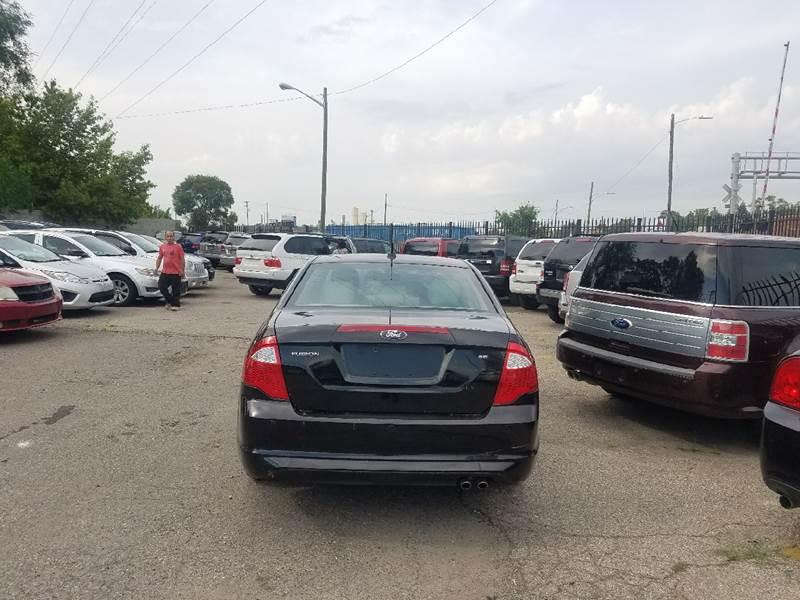 2012 Ford Fusion for sale at Five Star Auto Center in Detroit MI