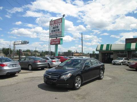 2009 Chevrolet Malibu for sale at Five Star Auto Center in Detroit MI