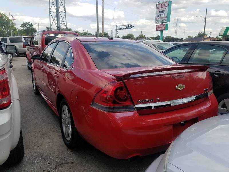 2009 Chevrolet Impala for sale at Five Star Auto Center in Detroit MI