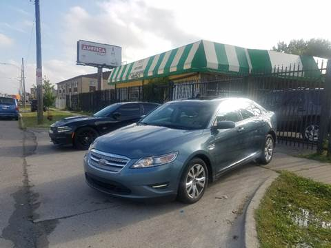 2010 Ford Taurus for sale at Five Star Auto Center in Detroit MI