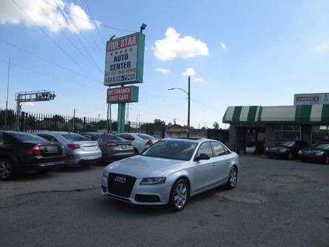 2009 Audi A4 for sale at Five Star Auto Center in Detroit MI