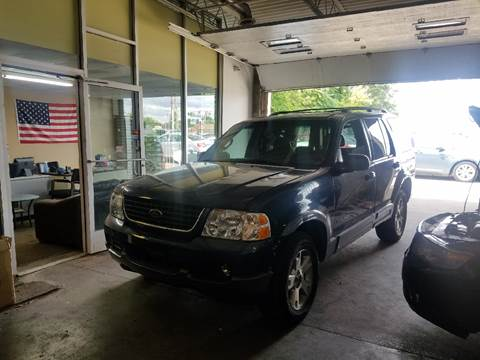 2002 Ford Explorer for sale at Five Star Auto Center in Detroit MI