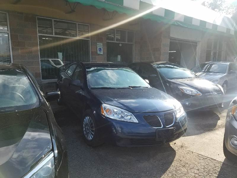 2009 Pontiac G6 for sale at Five Star Auto Center in Detroit MI